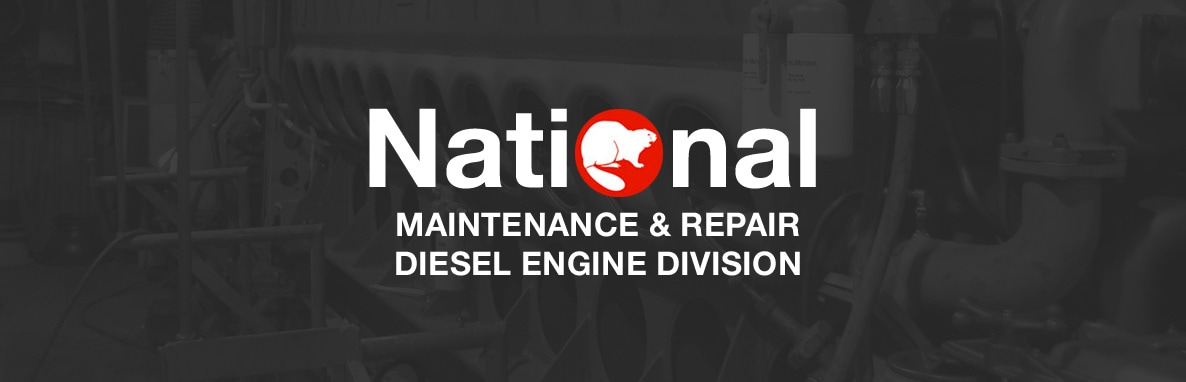 National Maintenance & Repair Diesel Engine Division Header